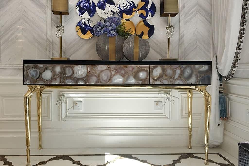 3- custom golden luxury cabinet review-min
