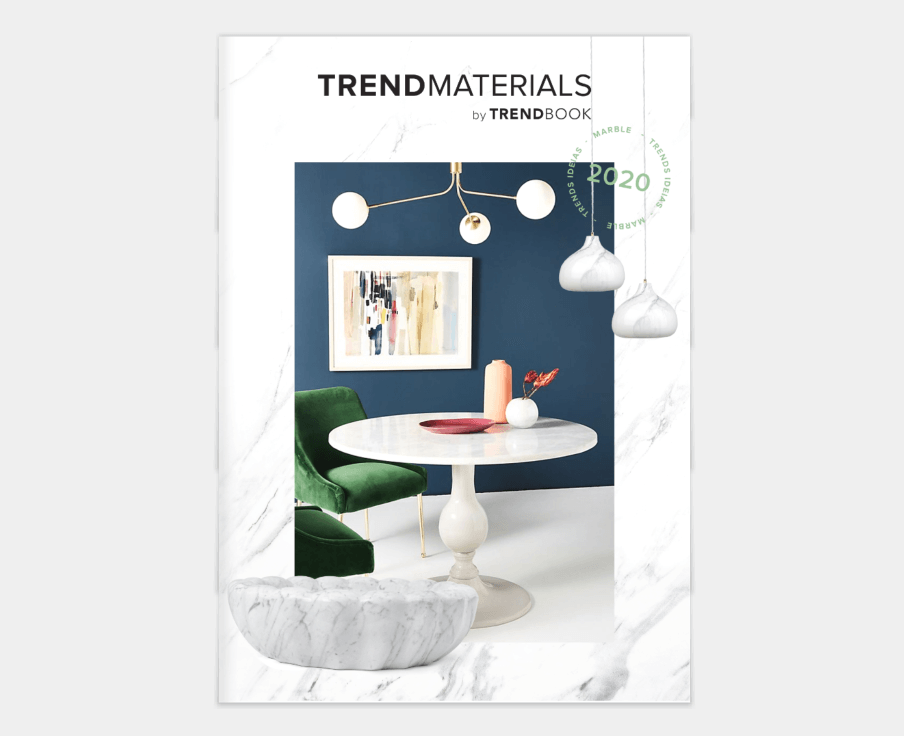 Trend Book 2020: Materials Marble