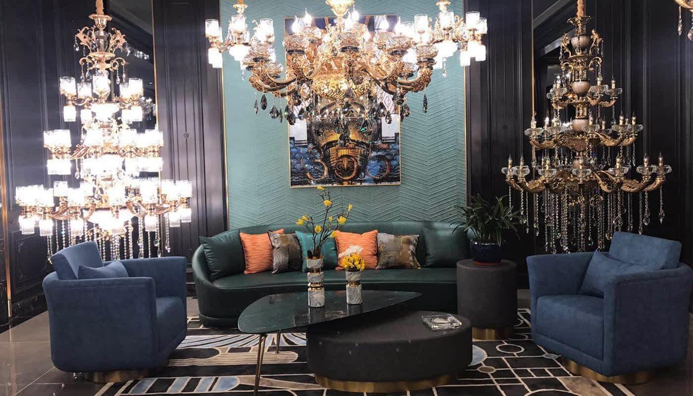 Brand lamp Showroom 2019