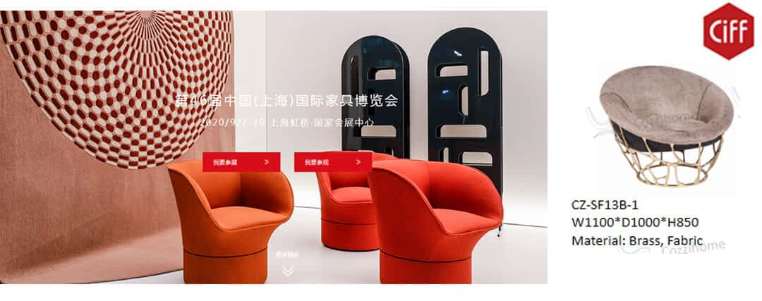 2020 Top 10 Biggest China Furniture Fairs, to discover the excitement! - 6 -